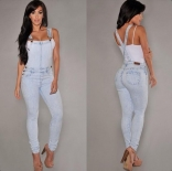 Strap Bodycon Summer Party Skinny Jeans