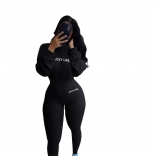 Black Long Sleeve Bodycons Sexy Women Jumpsuit
